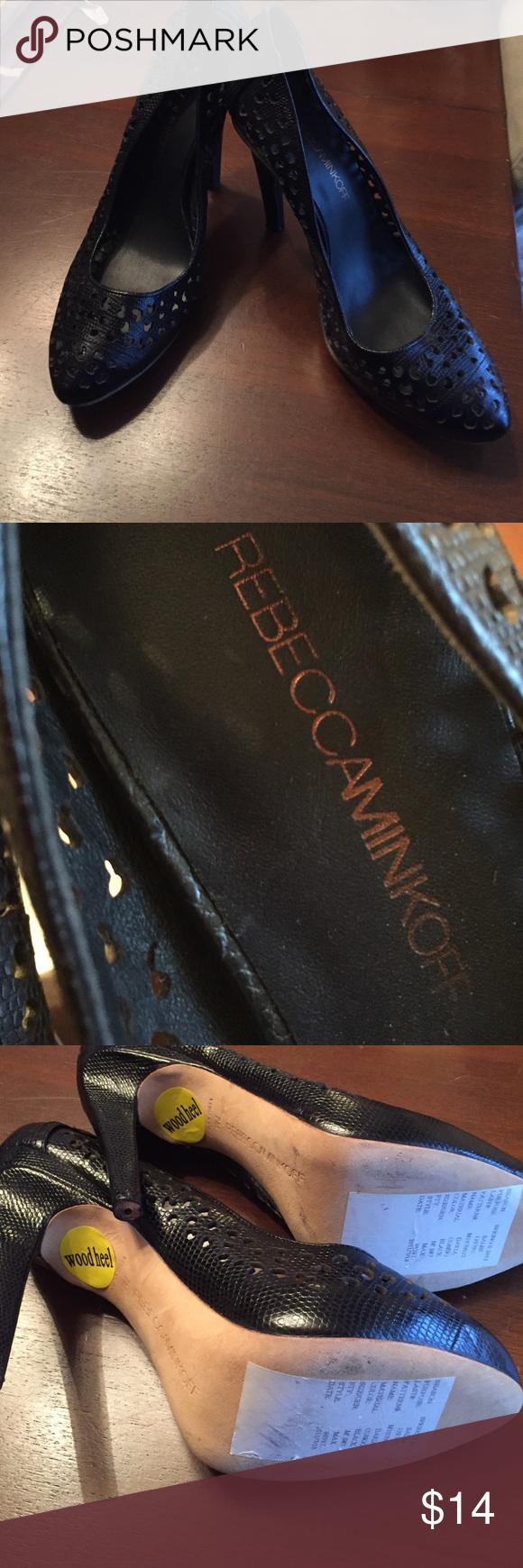 Rebecca Minkoff Sz 7 pumps New but need new heel protectors Shoes Heels