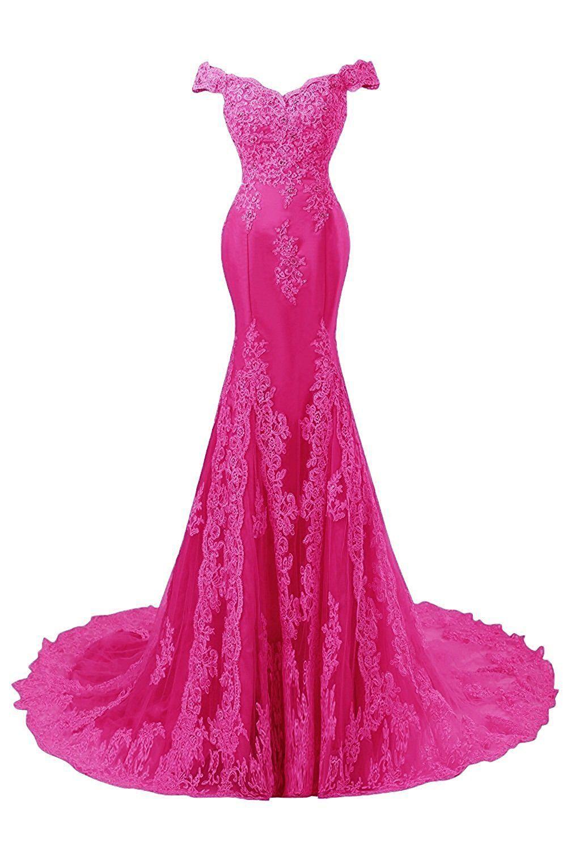 Fanciest womens cap sleeve lace prom dresses mermaid evening
