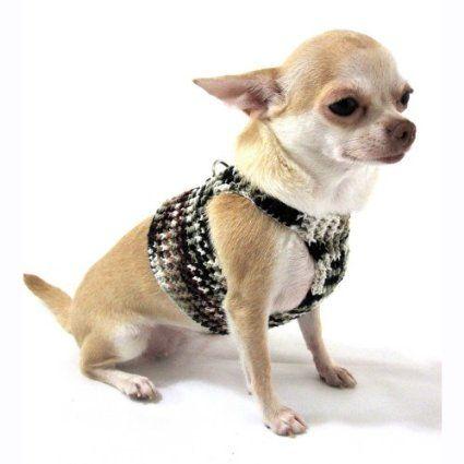 Army Military Dog Harness Vest Pet Camo Handmade Crochet Cotton By