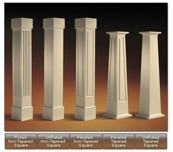 How to Build Square Wood Columns