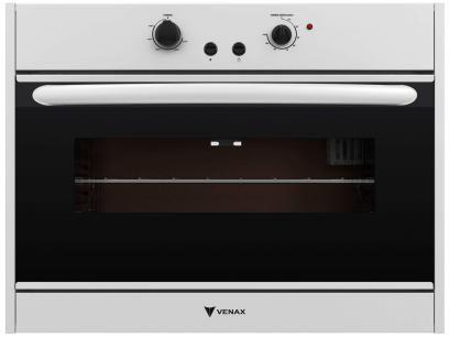Forno de Embutir a Gás Venax Nero 90L Grill - Timer com as melhores condições você encontra no Magazine Igoryang. Confira!