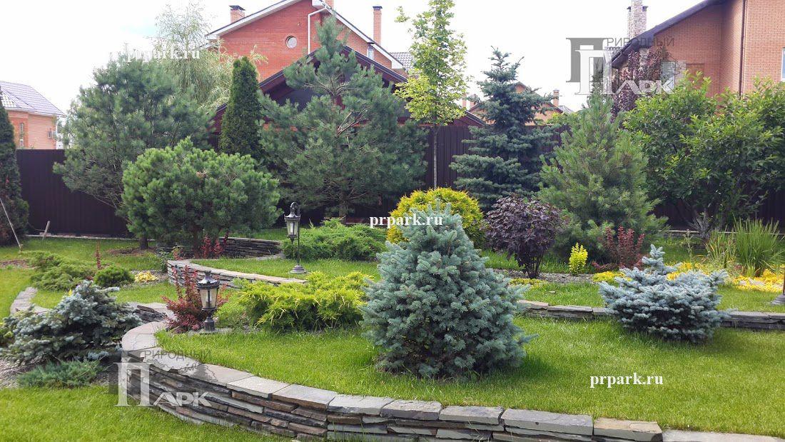 частные сады Подмосковья, фото | Природный Парк Дизайн (с ...