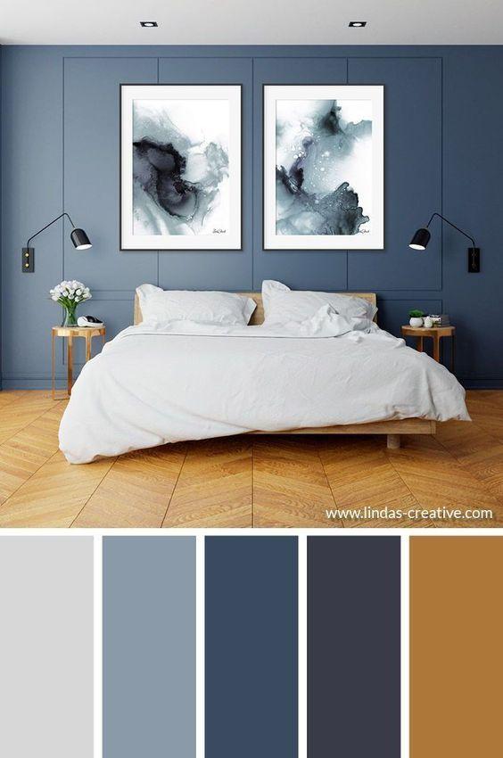 Package Floating Everlasting Blue Best Bedroom Colors Bedroom Color Schemes Home Decor Bedroom