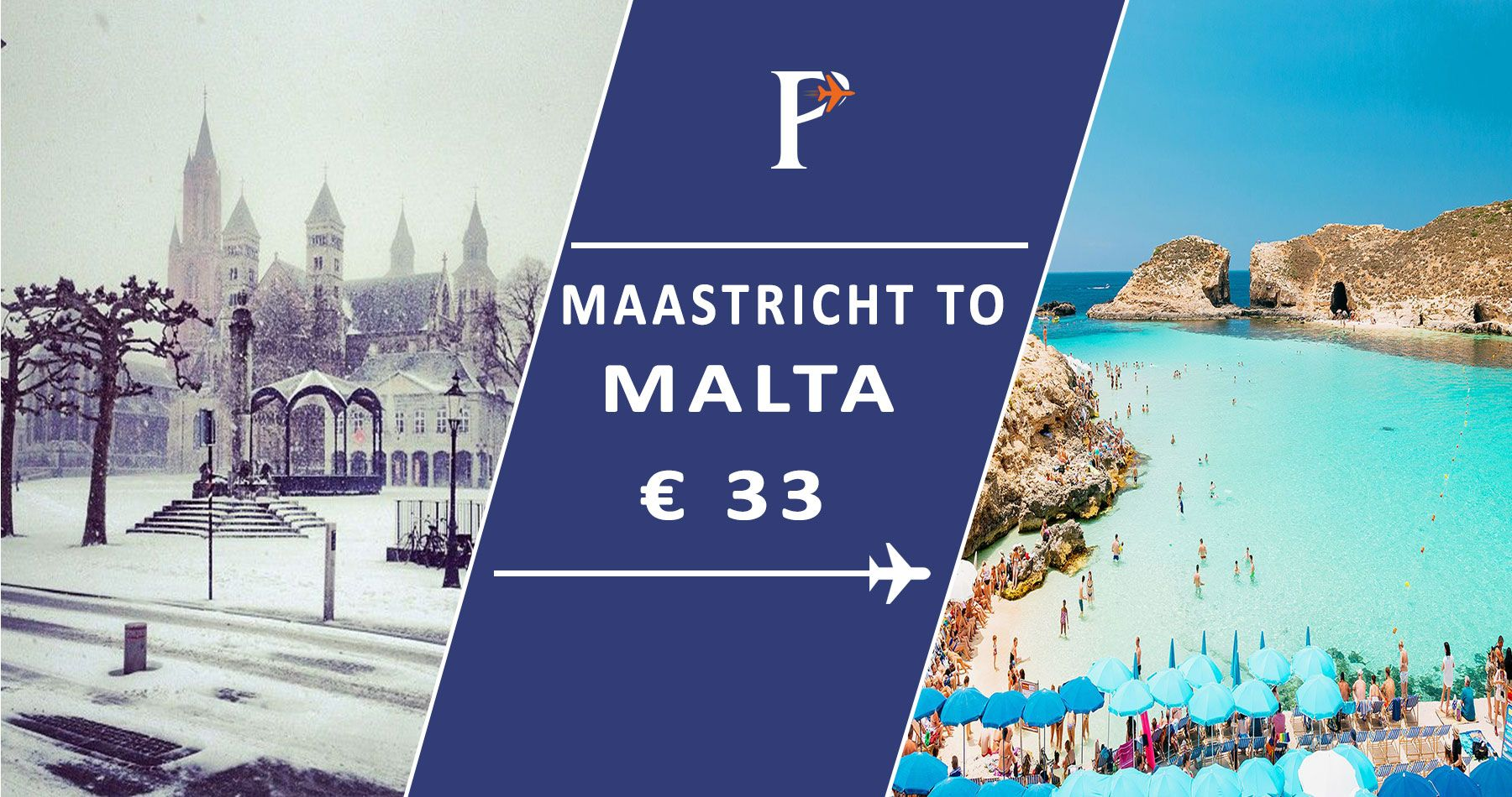 Cheap flights from Maastricht to Malta Search and