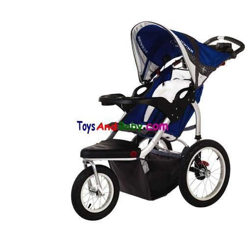 Schwinn Turismo Swivel Wheel Jogger Blue 13 Sc114 Take Your Child And Tunes On The Road In The Schwinn Turismo Swivel Wheel Sin Jogging Stroller Single Stroller