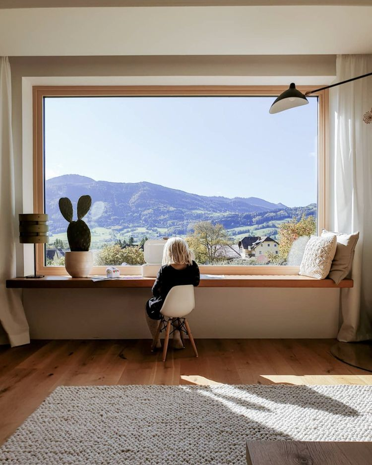 Photo of my scandinavian home: a family home with a breathtaking view of the Austrian …