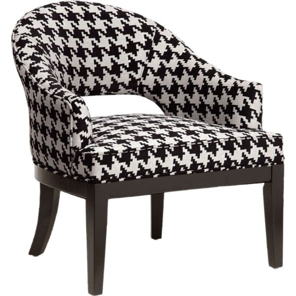 Houndstooth In 2020 Upholstered Accent Chairs Upholstered Arm