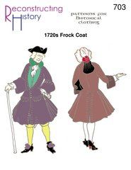 1720s Frock Coat  Pirate Frockcoat or French Royal Court Frockcoat Pattern *** Read more reviews of the product by visiting the link on the image.