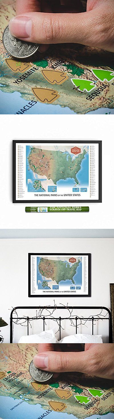 Other travel maps 164807 the national parks scratch off travel other travel maps 164807 the national parks scratch off travel map usa by mappinners sciox Gallery