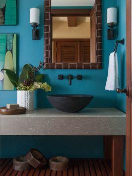 Tropische Badezimme  Badezimmer Ideen(1)