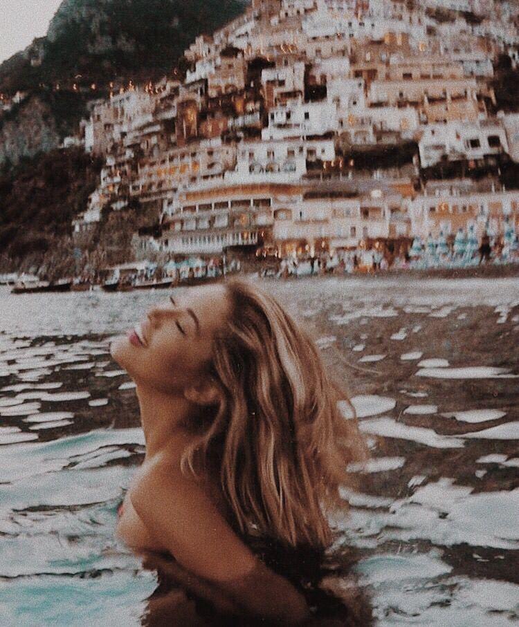 swimming in Amalfi - swimming in Amalfi Das schönste Bild für decor , das