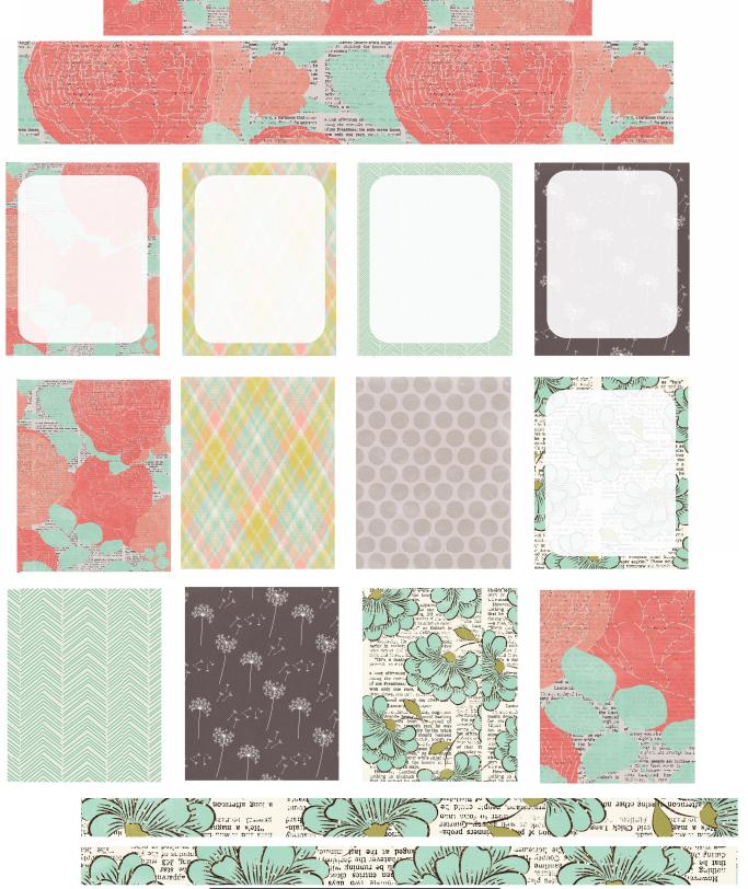 Planning Pretty: Pretty Patterns Free Planner Printable