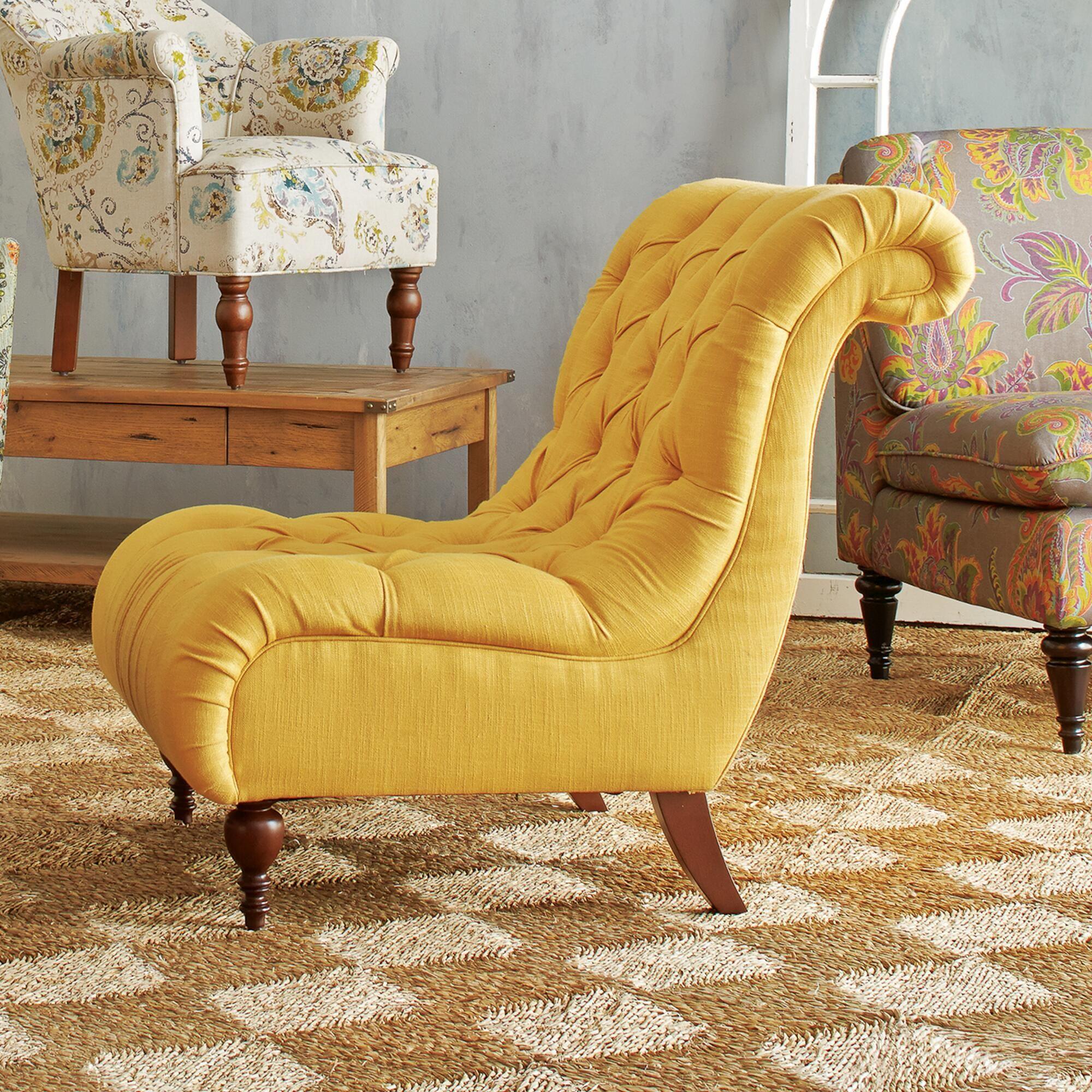 Honey Gold Devon Chair Slipper ChairsWorld MarketAccent ChairsDevonLiving