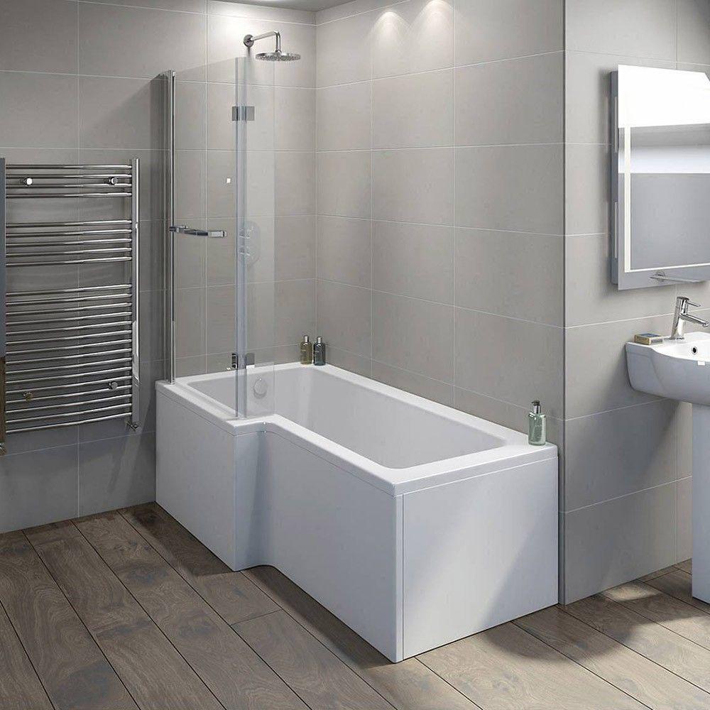Elara Rechts Duschwand Bad Inspiration Duschbadewanne