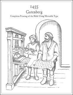 Gutenberg S Printing Press Printing History Printing Press