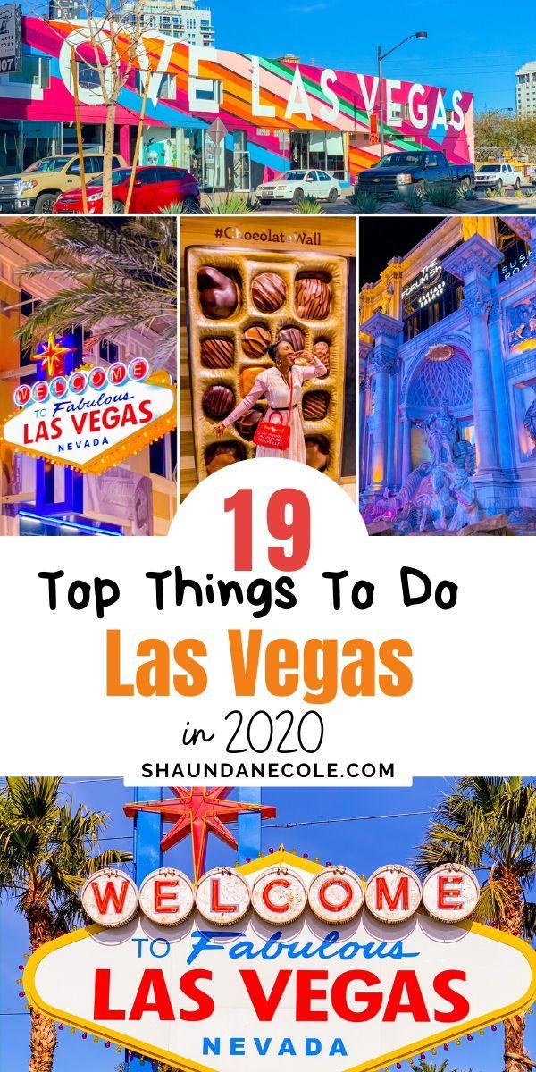 Top Things To Do In Las Vegas 2020 in 2020 Las vegas