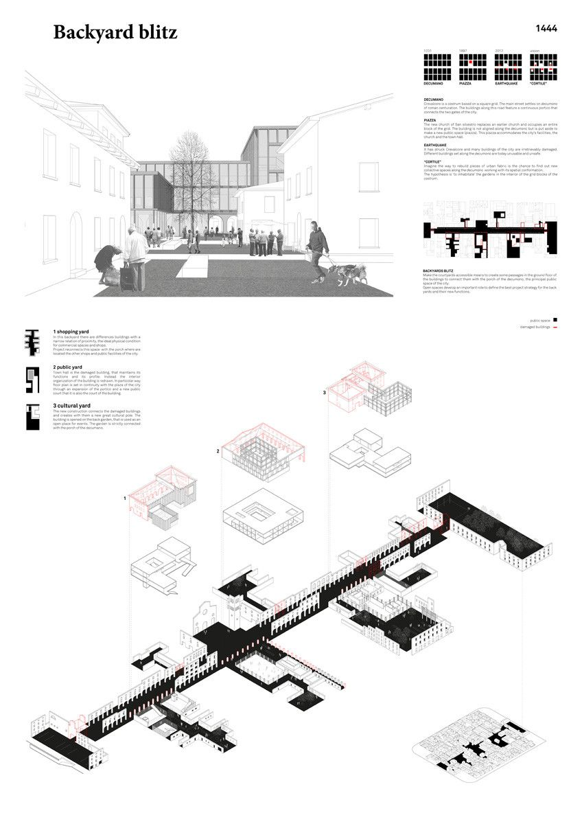 Gallery of  PostQuake Visions  Young Architects Competition Results Announced  8 is part of architecture House Nature Awesome -  Luca Nicoletto, Emanuele Paladin, Marco Paronuzzi  Image Courtesy of YAC