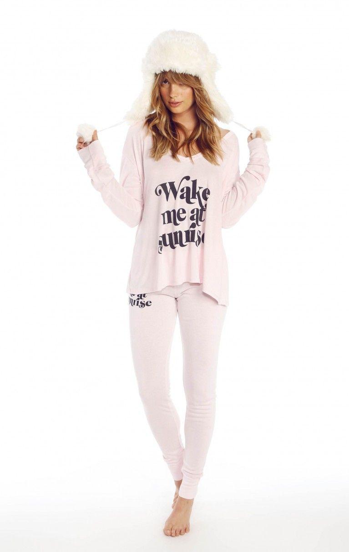 Wildfox Couture Wake Me at Sunrise Beach Camping Pajama ...