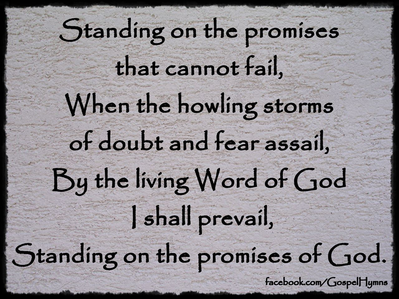 My King Quotes Standing On The Promises Of Christ My King Through Eternal Ages