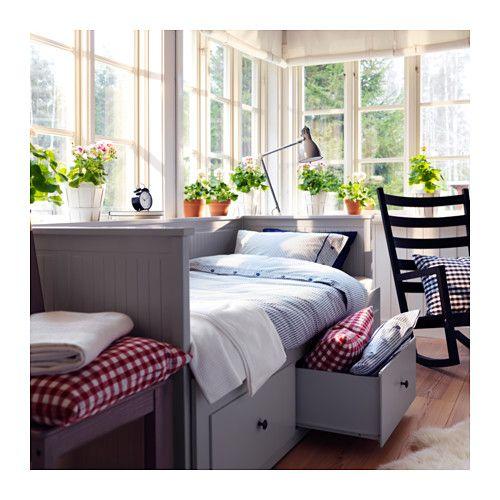 HEMNES Dagbäddstomme med 3 lådor  - IKEA