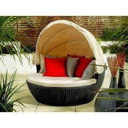 Living It Up Garden Furniture Round rattan daybed living it up out doors pinterest daybed round rattan daybed living it up workwithnaturefo