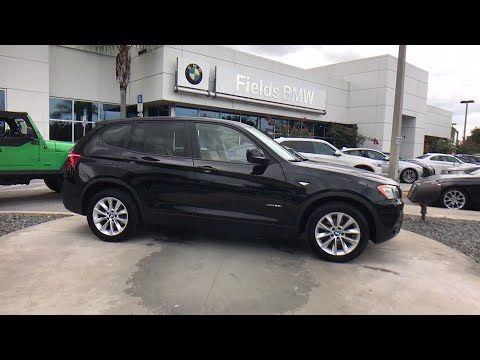 2014 BMW X3 Kissimmee Clermont Orlando FL S0X39438A #FieldsBMW #Orlando #Florida
