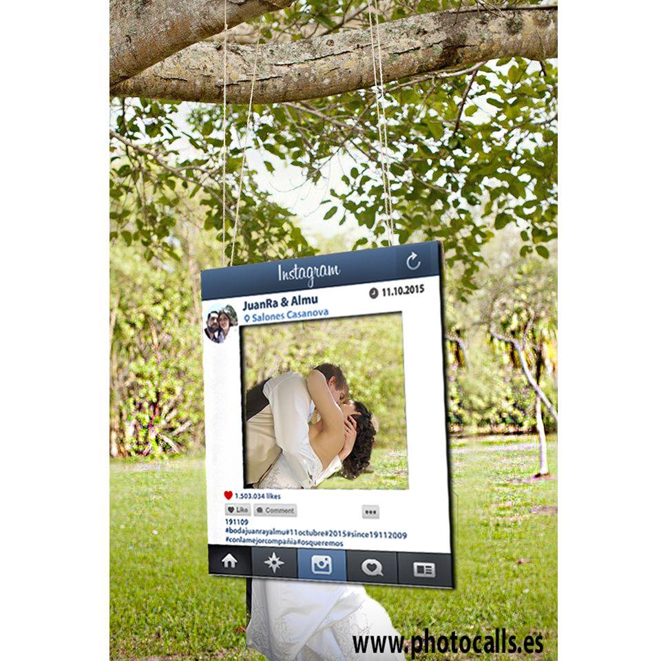 photocall marco instagram para bodas cumpleaos y eventos photocall instagram