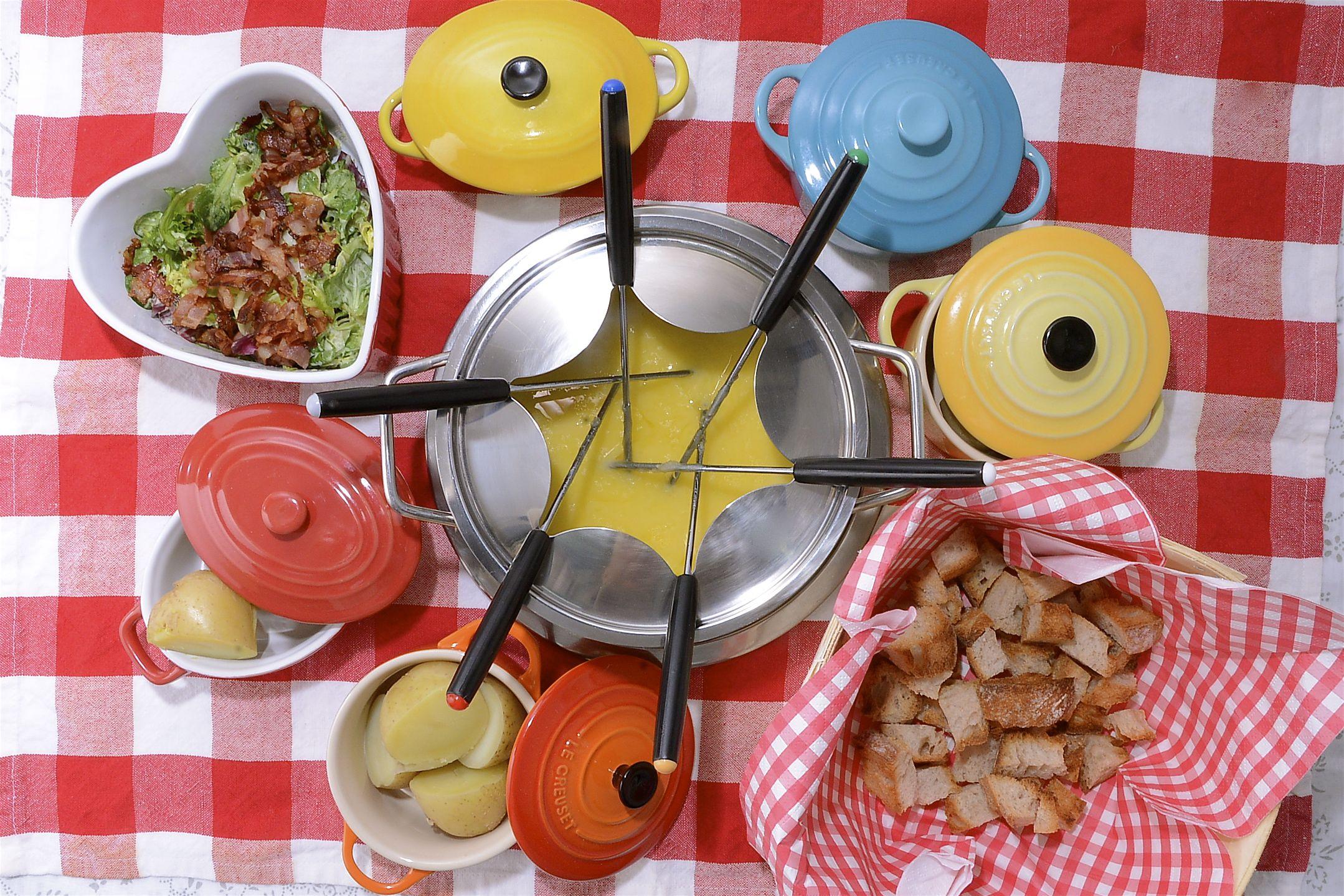 Fondue suiza de queso for Canal cocina tapas