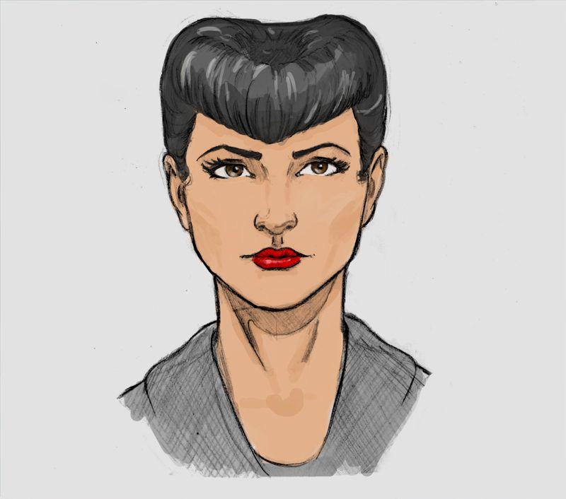 Rachel - Blade Runner by LeudemarLima.deviantart.com on @deviantART
