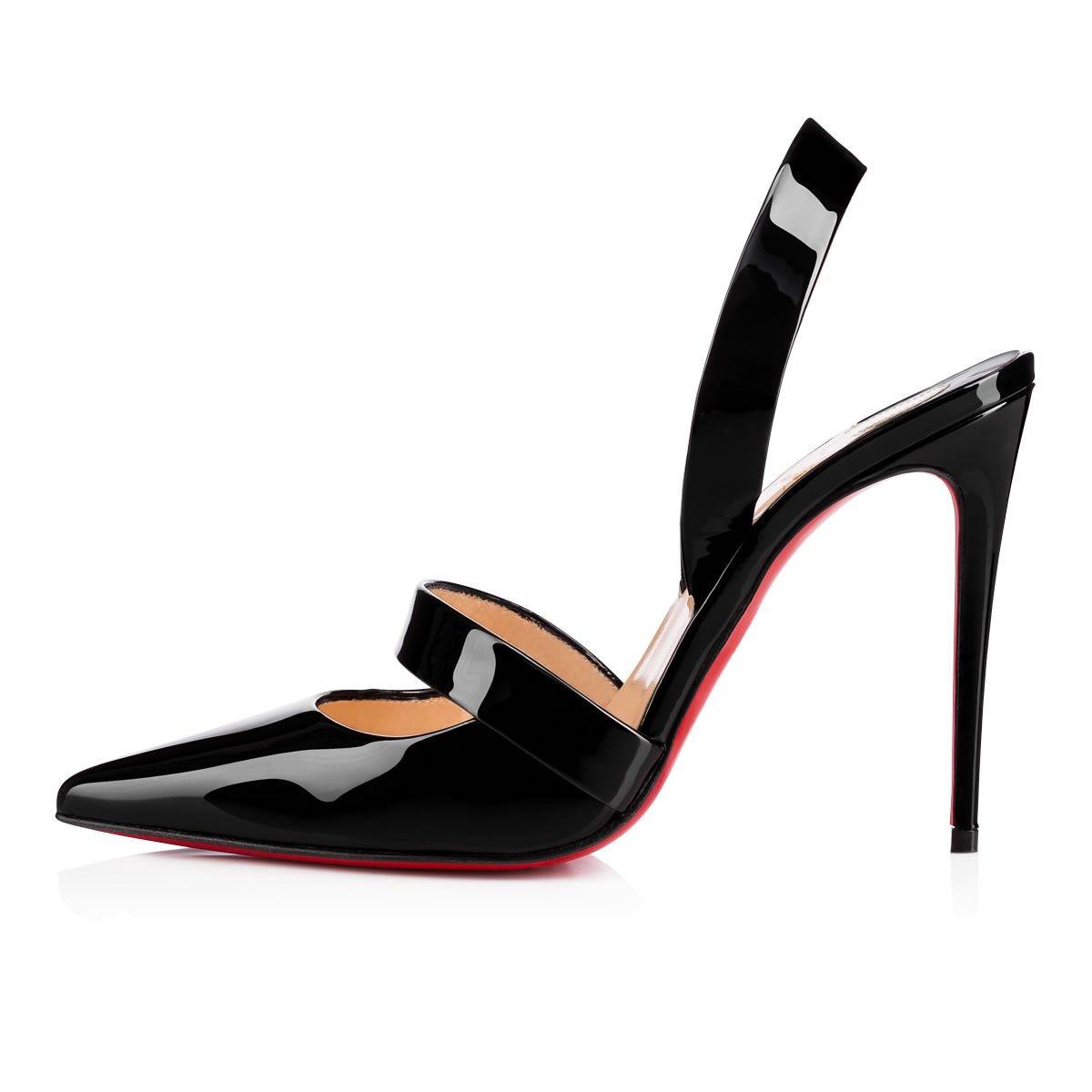 Actina 100 black patent leather pumps Christian Louboutin 4PTb2HOG