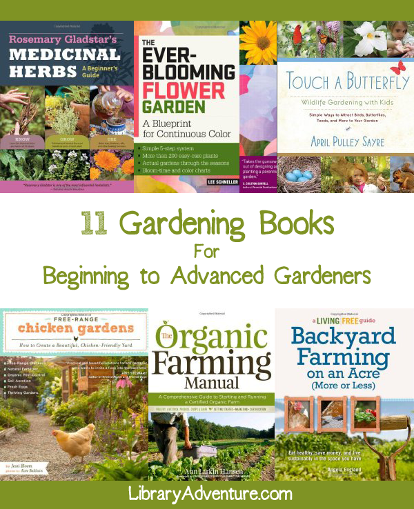 11 Gardening Books for Beginner to Advanced Gardeners ...