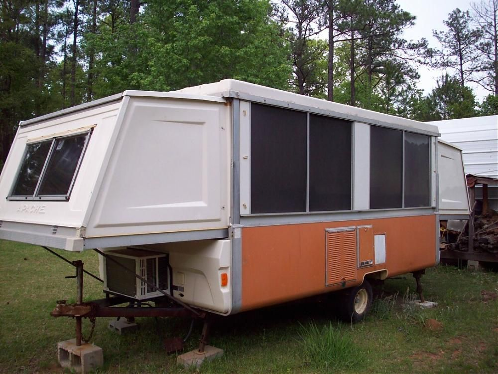 Pictures Of Vintage Pop Up Campers The Same A C Modification