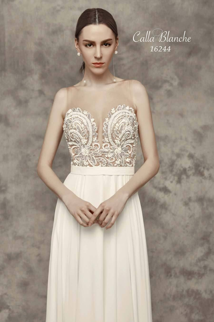 Trinity wedding dress style calla blanche pinterest