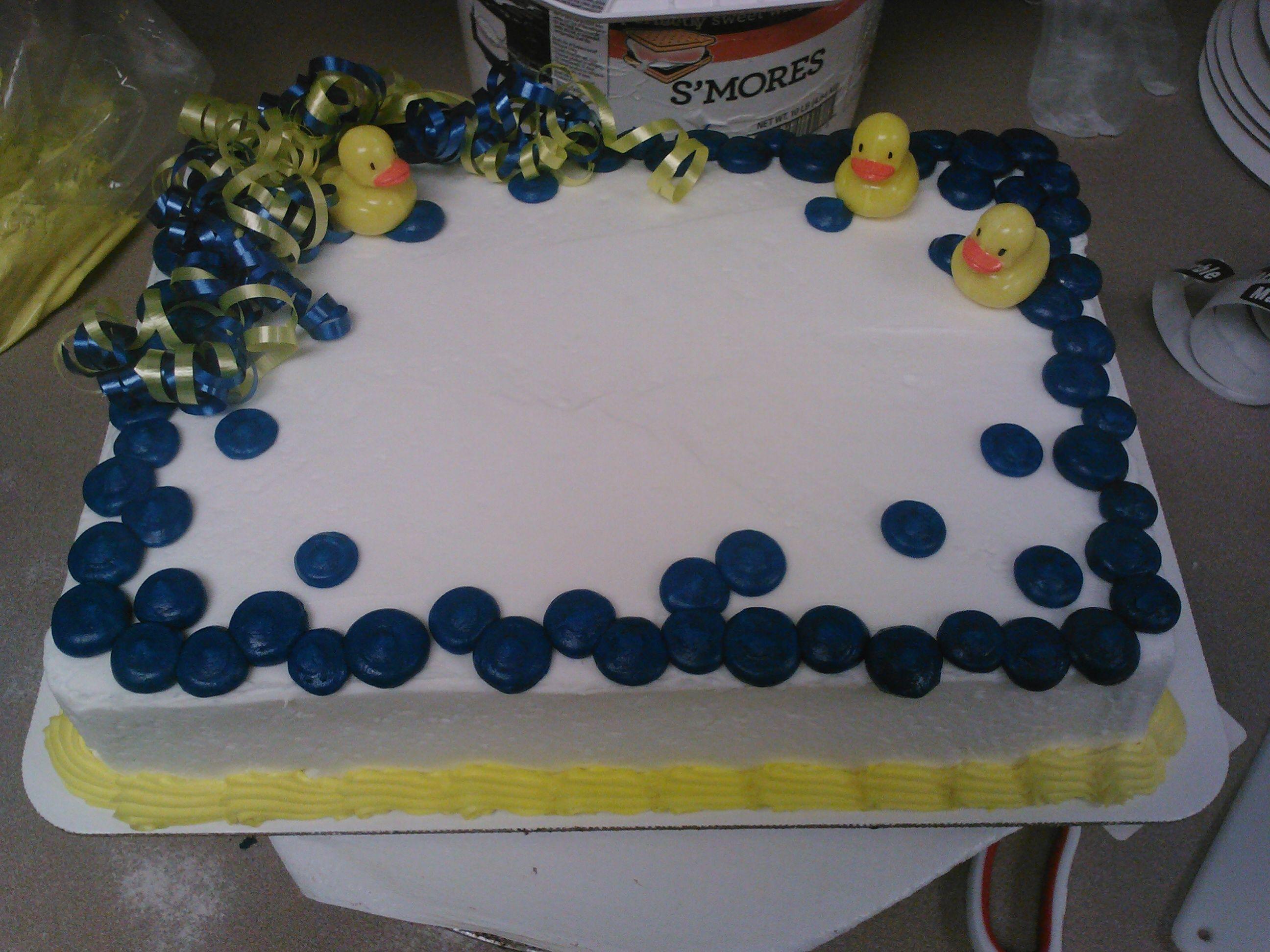 Ducky Cake Designed Cosentinos Brookside Market Kansas City Missouri Jpg 2592x1944 Princess Birthday Price Chopper