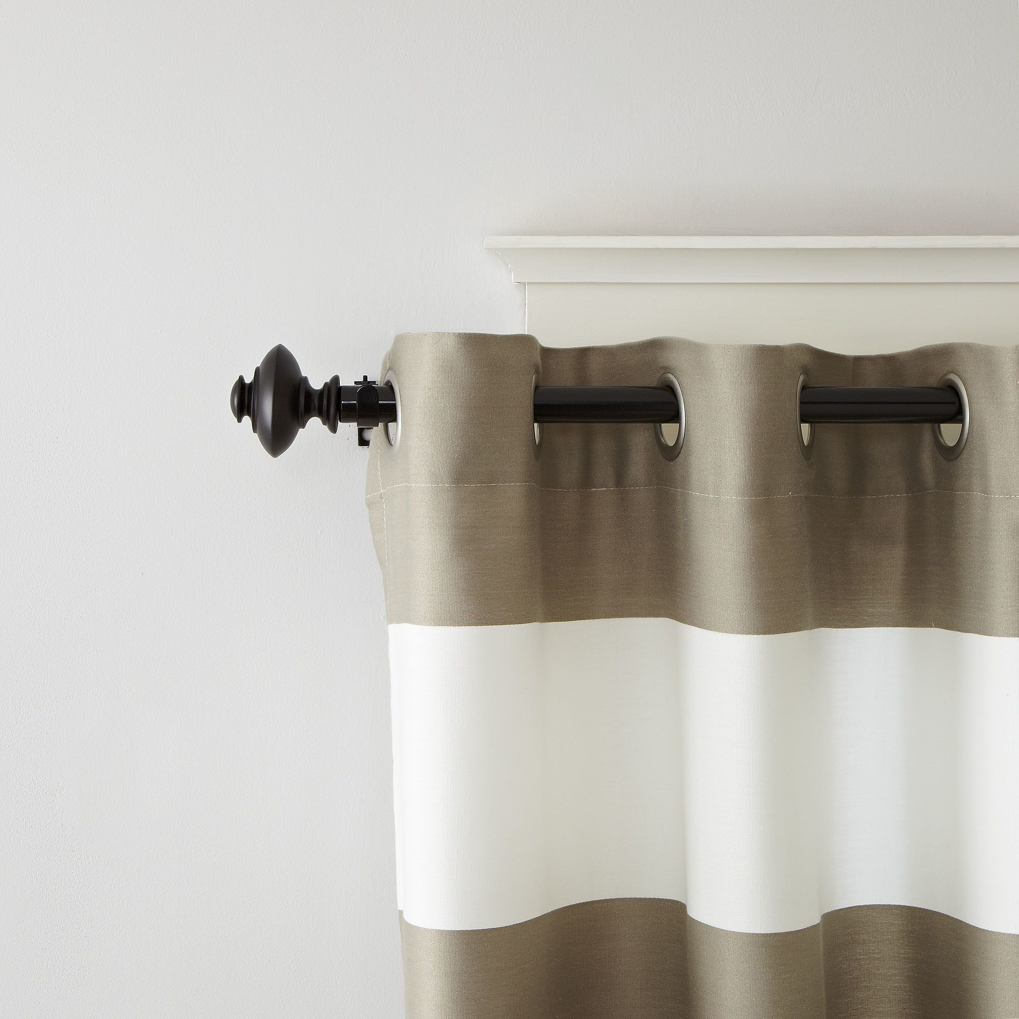 Roxanne Curtain Rod And Hardware Set Curtain Rods And Hardware