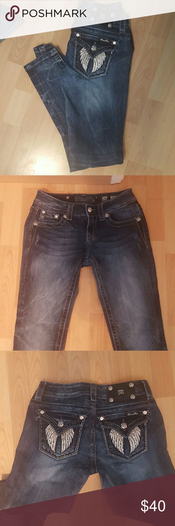 Miss Me Jeans Really nice condition only worn once dont fit me anymore Miss Me Jeans Skinny