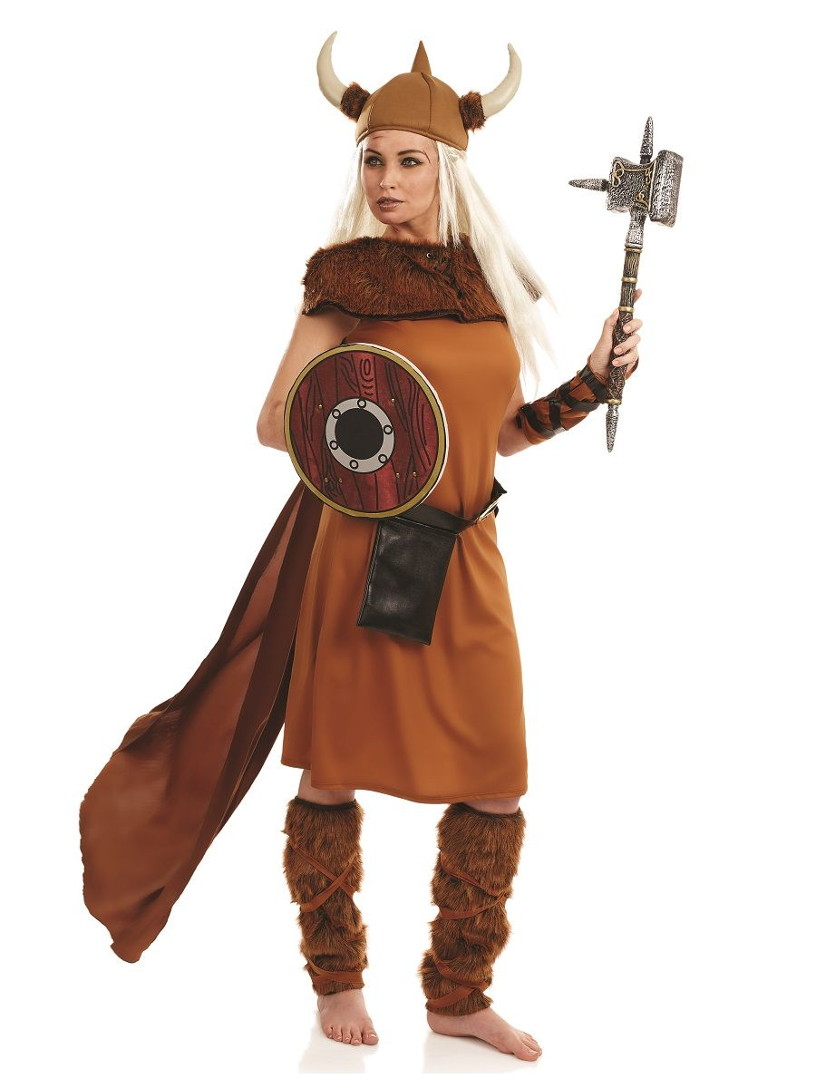 Viking Fancy Dress Adults Medieval Book Week Historical Ladies Mens Costume New