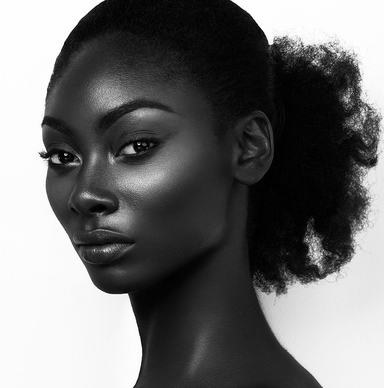 Fibi black women facial anal