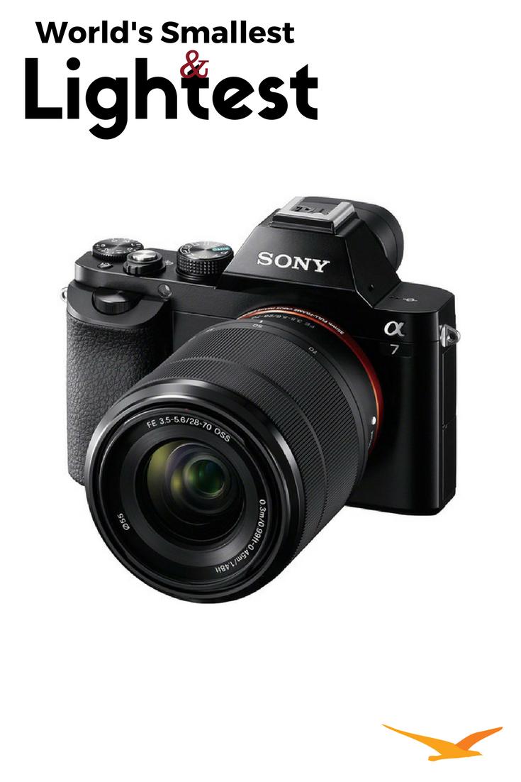 a7K Full-Frame Mirrorless Camera with FE 28-70mm Lens 24