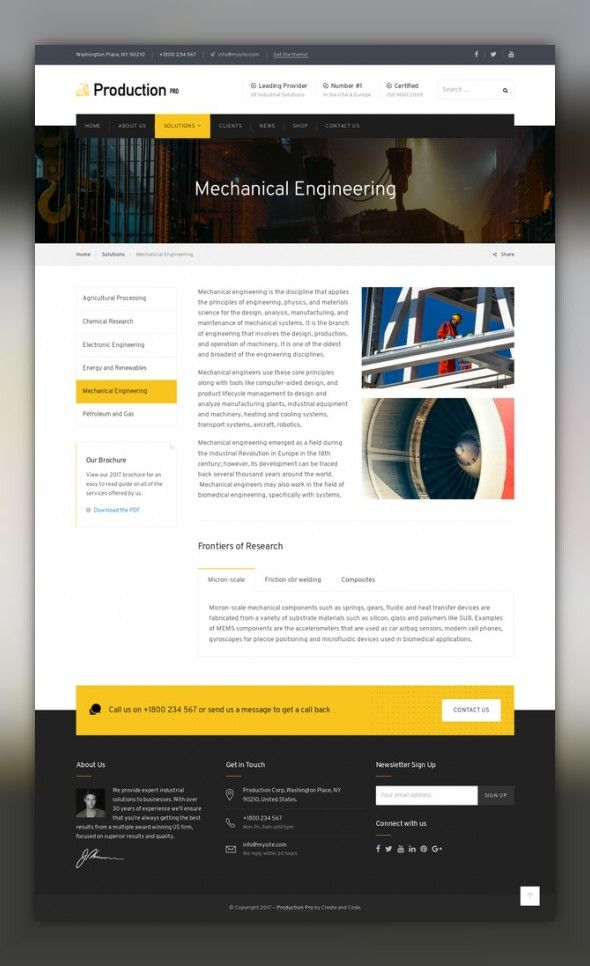 Production Pro WordPress Theme | Wordpress, Template and Site design