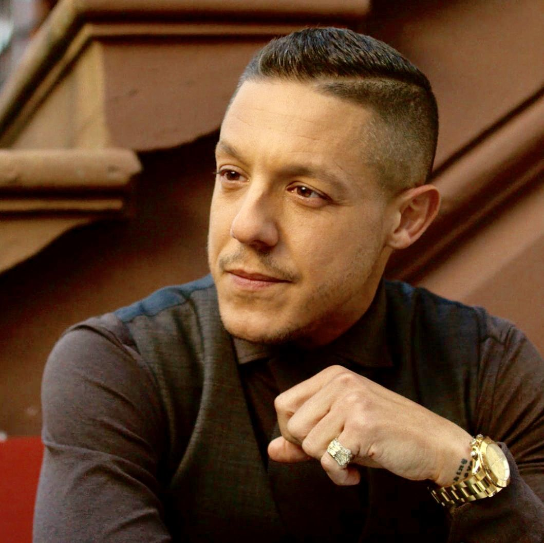 Shades Luke Cage Theo Rossi His Eyes Famous Faces