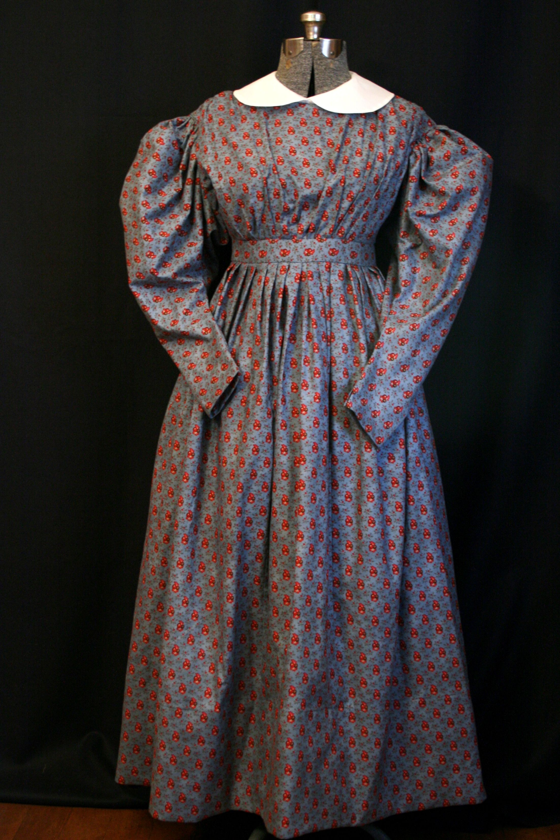 Lavender S Green Early Victorian Reproduction Clothing Fashion