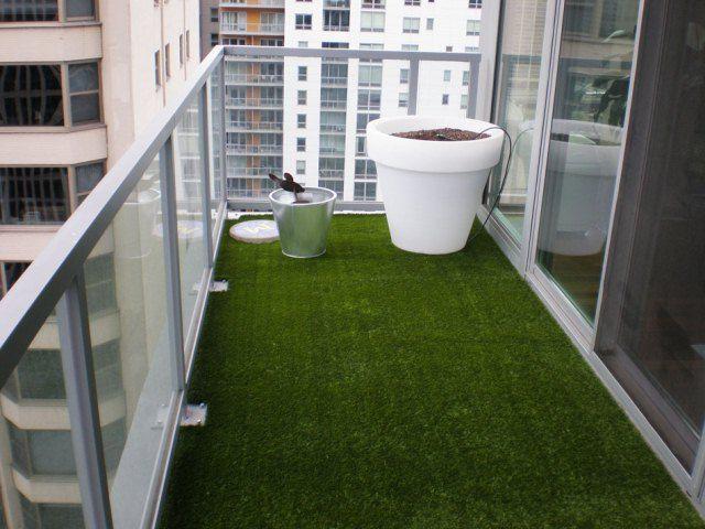 Fake grass carpet for balcony balcony pinterest for Balcony artificial grass