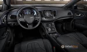 2015 Chrysler 200 Interior Photo Chrysler 200 Chrysler Cars
