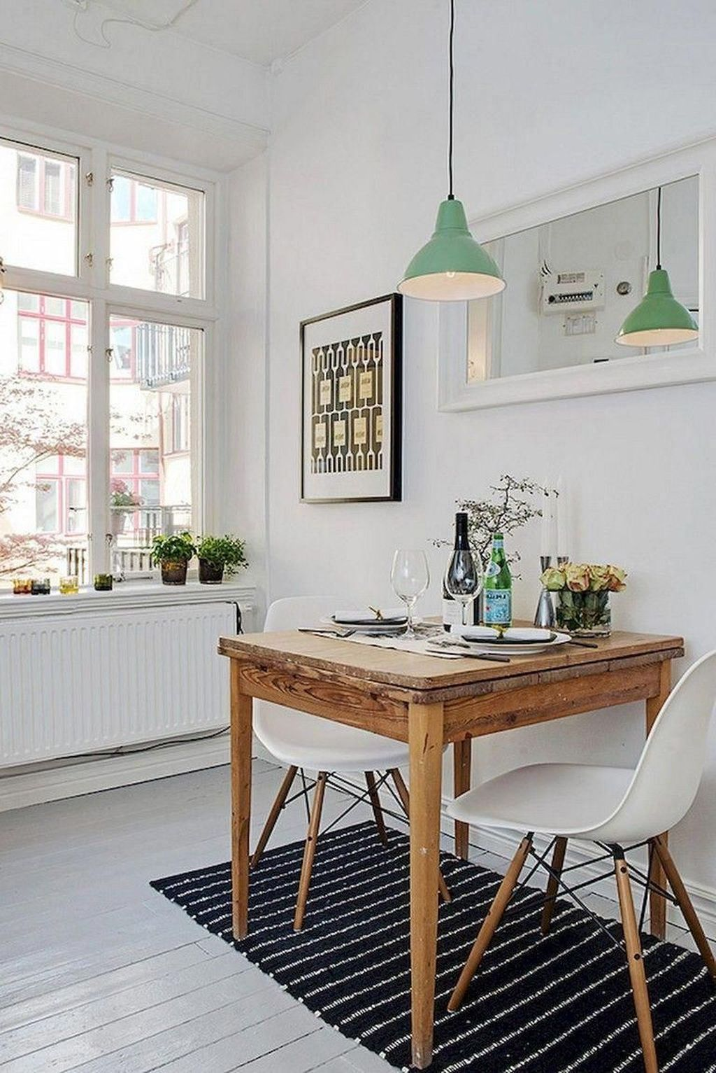 38 Beautiful Small Dining Room Design Ideas For Apartments With