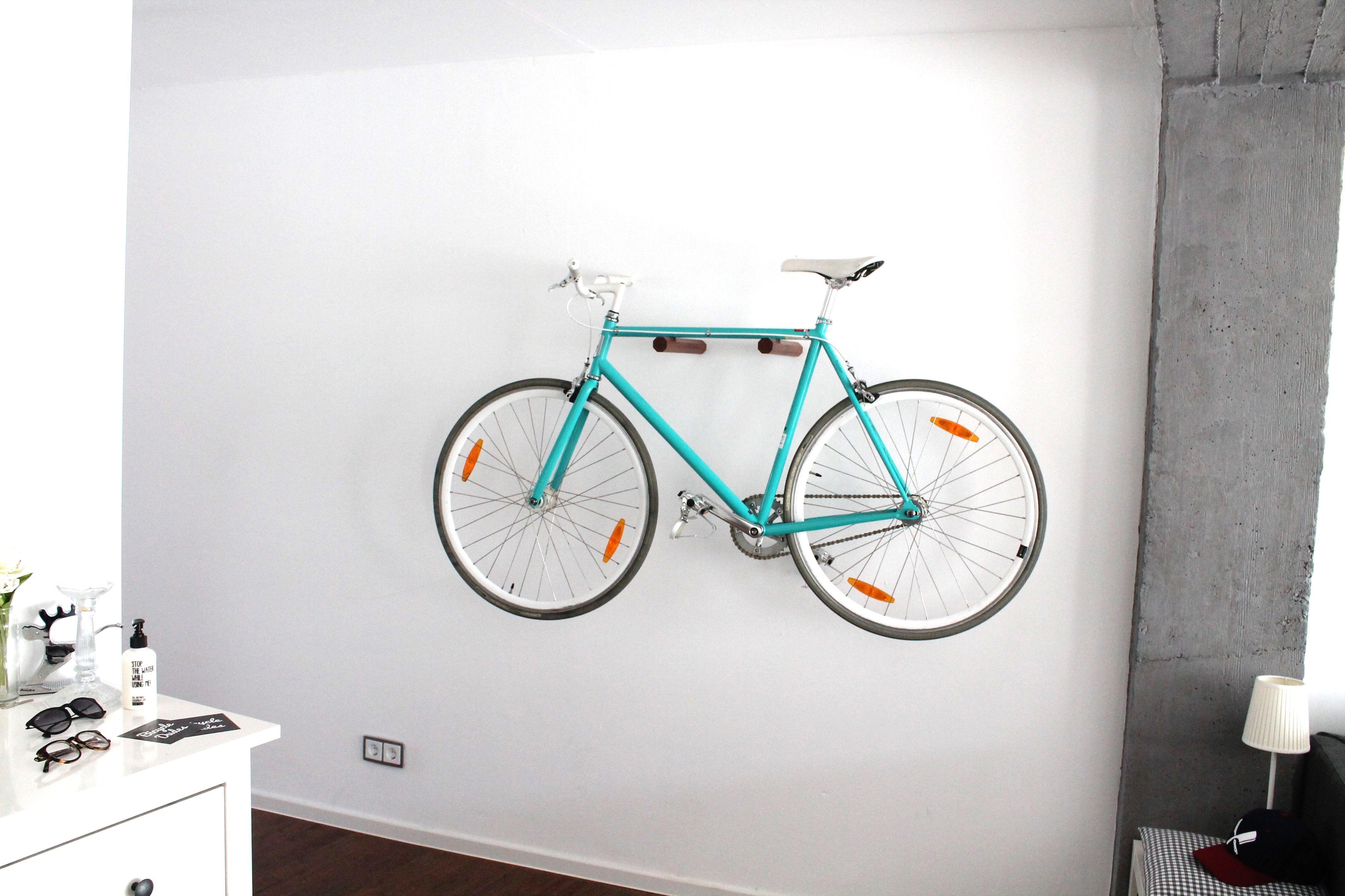 Wirliebenfahrraderundholz Fahrradwandhalterung Fahrradwandhalter