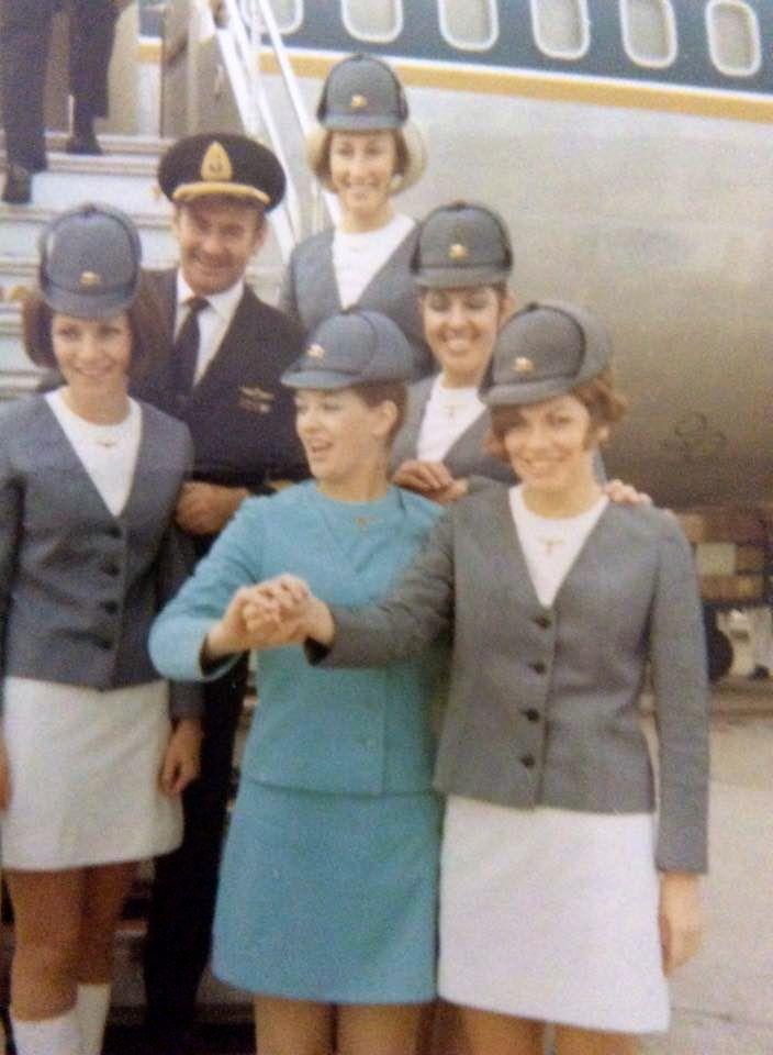 TAA (Trans Australia Airlines) Flight Crew