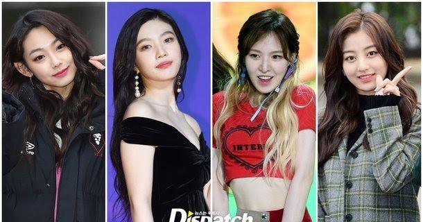 Dispatch S Top 10 Female Idol Diet Transformations Female Korean Idol Idol