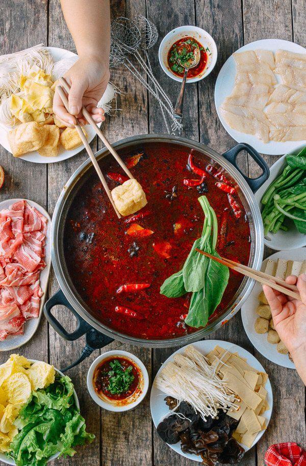 Sichuan Hot Pot Recipe Hot pot, Asian cooking, Asian