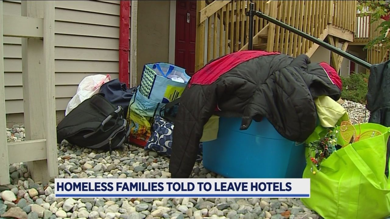 Homeless Families Told To Leave Hotels In Gr Homeless Families Hotel Homeless